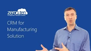 CRM for Manufacturing 2015