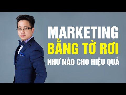 Kinh Doanh Cửa Hàng Marketing Qua Tờ Rơi Như Thế Nào Cho Hiệu Quả   Lê Thiên Công