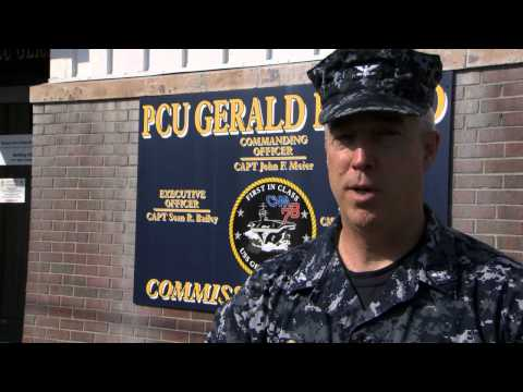 Capt. Meier on Ford: Working with Newport News Shipbuilding on Building Gerald R. Ford