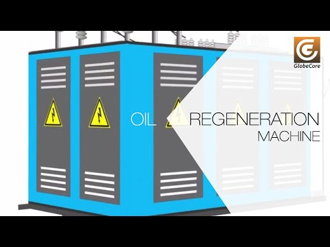 Transformer oil can be regenerated. UVR unit for oil regeneration
