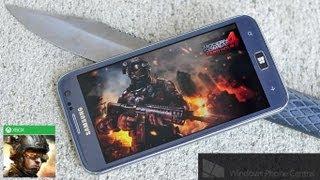Modern Combat 4: Xbox Windows Phone 8 Review