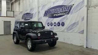 Pre-owned 2009 Jeep Wrangler Trail Rated W/ 3.6L, Leather Overview I Boundary Ford