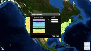 OpenLayers map with an animated WMS layer