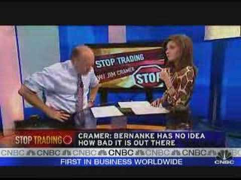 Cramer: Bernanke, Wake Up