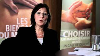 La massothérapie au Québec : Mot de la Directrice de la FQM