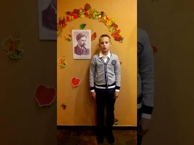 Сергей Седов читает произведение «Листопад» (Бунин Иван Алексеевич)