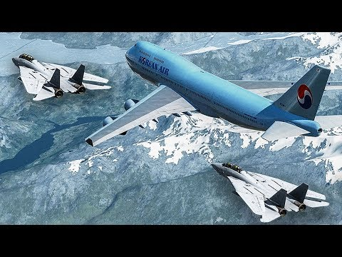 Boeing 747 Almost Shot Down by Two Fighter Jets | Korean Air Flight 85