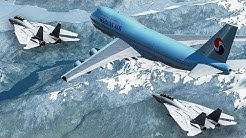 Boeing 747 Almost Shot Down by Two Fighter Jets   Korean Air Flight 85