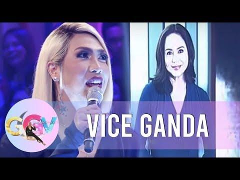 GGV: Vice Ganda gets nervous in 'Tanong Mo, Mukha Mo' with Tito Boy