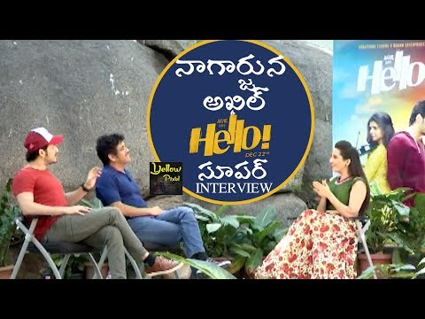 Nagarjuna Akhil Akkineni Superb Exclusive Interview About Hello Movie | Latest Tollywood News