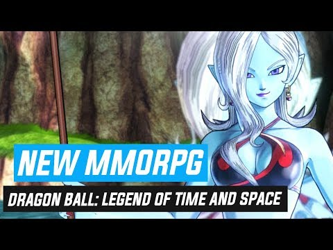 A NEW MMORPG? Dragon Ball: Legend Of Time And Space