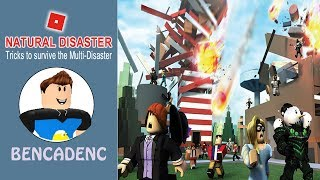 Roblox Natural Disaster Survival | Tricks to survive Multi Disaster