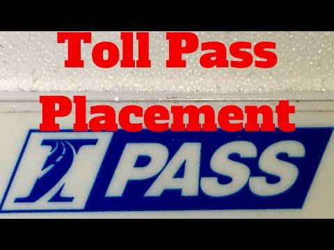 Tesla Motors S / X: Toll Transponder Placement