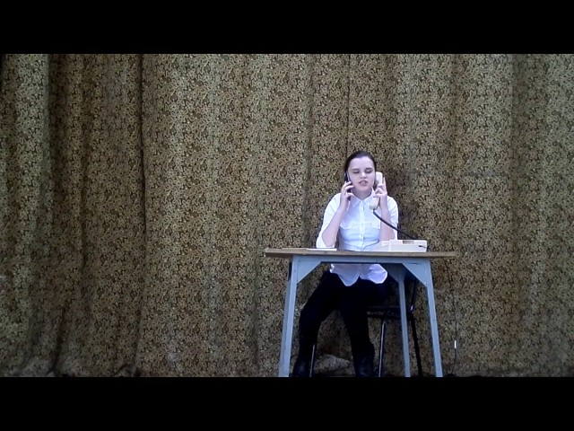 Изображение предпросмотра прочтения – МарияМинаева читает произведение «Сплетник» В.В.Маяковского