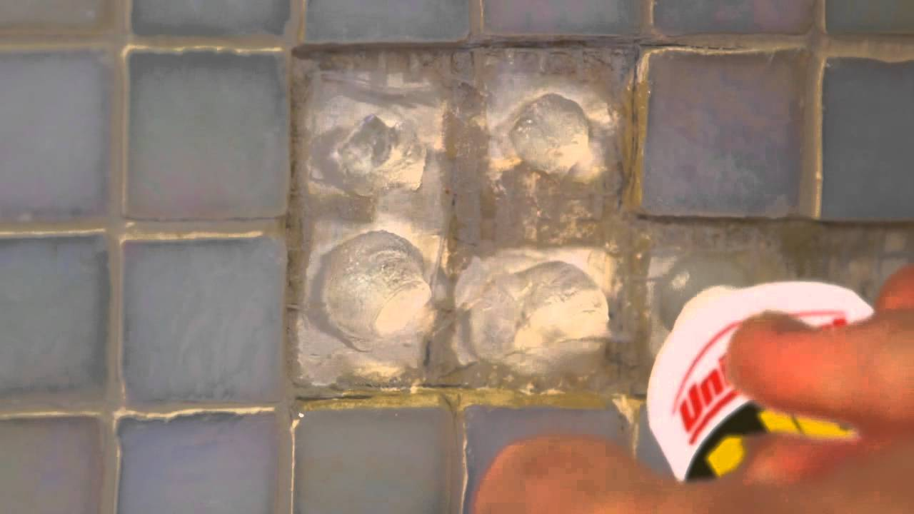 How To Easily Fix Mosaic Tiles In The Bathroom Youtube