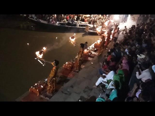 Varanasi Ganga Arti @ Aassighat