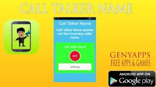 call talker name announcer android free