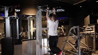 Assisted Close Grip Pull Up