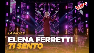 """Elena Ferretti """"Ti sento"""" – Finale – The Voice Senior"""