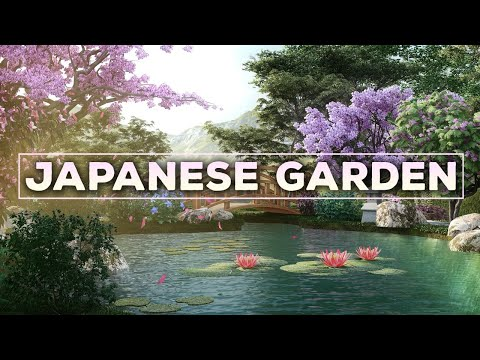 The Japanese Garden 🔴Japanese Lofi Radio 24/7 🔴 No Copyright Lofi Hip Hop Beats To Study/Relax To