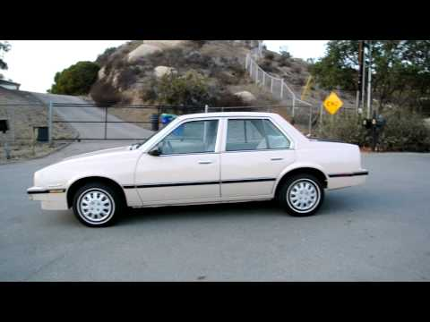 1985 Chevrolet Cavalier CS 1 Owner 2.0L 4cyl. 4D Sedan Pontiac Sunbird CHEAP WHEELS MPG