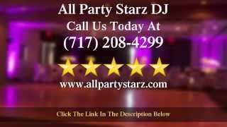 Wedding DJ New Cumberland PA - All Party Starz DJ - Best New Cumberland Wedding DJ