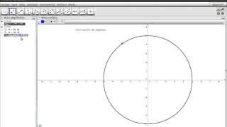 Tecnica para animar objetos en Geogebra