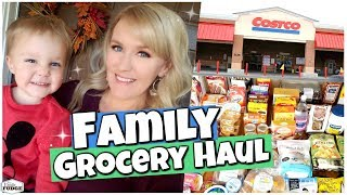 THEY FORGOT A COSTCO RULE? 🛒✔️ Large Family Grocery and Lunch HAUL