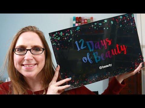 TARGET 12 Days of Beauty Advent Calendar 2018 - Christmas