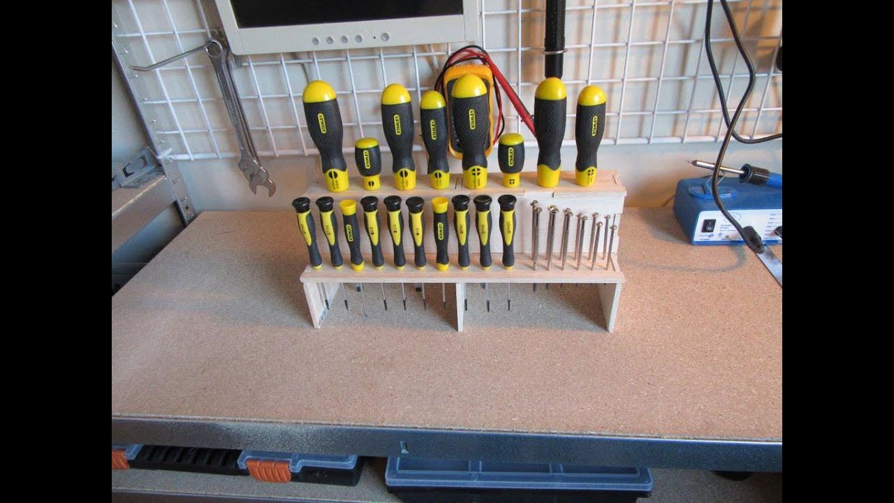 Organizador de ferramentas de pallet chaves passo a passo for Sargentos de madera