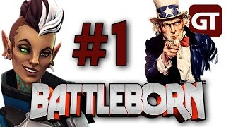 Thumbnail für BATTLEBORN im Community-Let's Play #1 - Koop-Kampagne - Gameplay - PC -German
