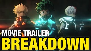 My Hero Acadmia MOVIE 3 TRAILER BREAKDOWN | MHA World Heroes Mission