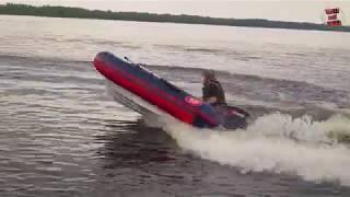Лодка РИБ Fortis-430 Испытал на воде, сравнение с ПВХ лодкой.