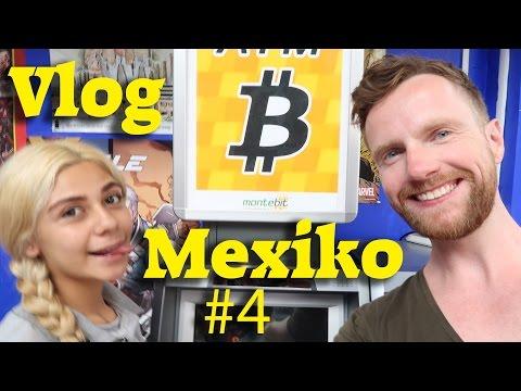 Vlog Mexico #4: Mein erster Bitcoin-Automat in Mexiko Stadt, Impressionen & Trumps Mauer