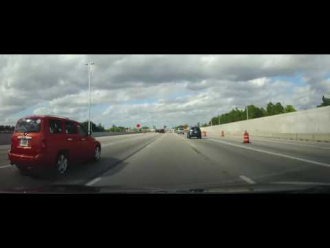 Driving on The Homestead Extension of Florida's Turnpike