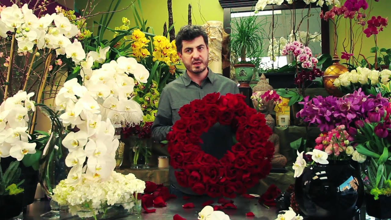 Flower Arrangements How To Arrange Funeral Flowers Youtube