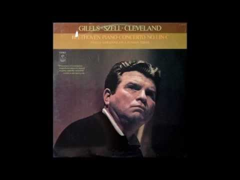 Gilels / Szell, Beethoven Piano Concerto No.1 in C major Op.15