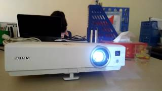 Replace and repair Sony vpl-dx120 projector Hight temp! Lamp off in 1 min - www.maychieutoancau.com