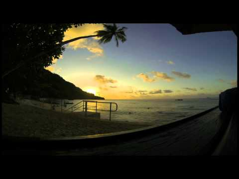 Flying Fish Cove Sunset Time Lapse