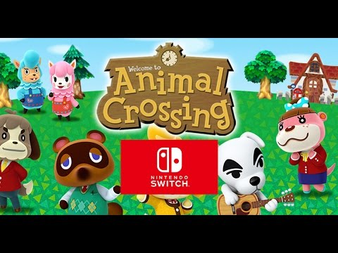 Episode #2 - Animal Crossing; Nintendo Switch 2017 - YouTube