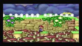 Paper Mario Part 47 Flower Fields Episode 2! Getting the Water Stone! Huff N Puff