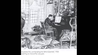 Albert Huybrechts - Suite pour instruments à vent et piano - I. Pastorale