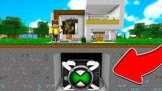 EVİMİN ALTINDA DEV OMNİTRİX BULDUM! 😱 - Minecraft