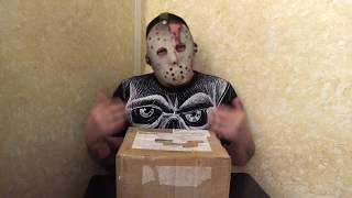 Unboxing Vid [ HAPPY HALLOWEEN - Mystery Gift Box From The Homeboy Strangla ] - MrMaD