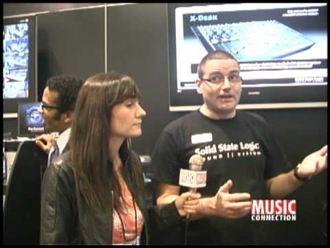 Music Connection interviews SSL @ NAMM