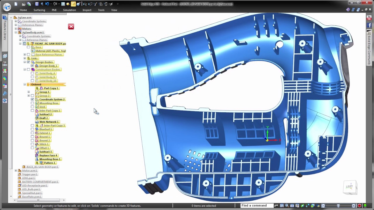 how to design a plastic part