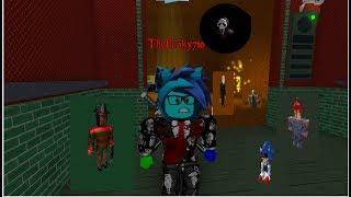 El ascensor de miedo Mi primer video Roblox #1