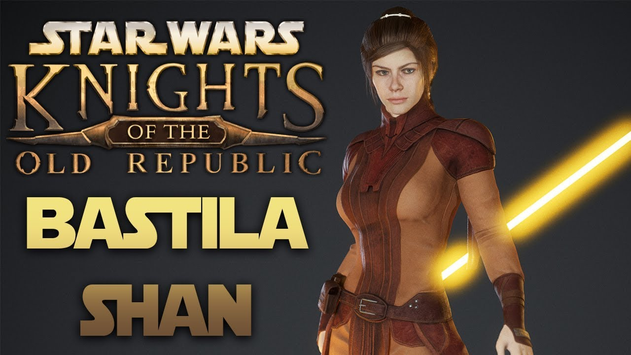Apeiron's Star Wars Knights Of The Old Republic - Bastila Shan Model Reveal  (Fan Remake)