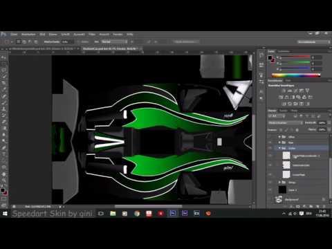 Speedart [TrackMania Skin] (Photoshop)