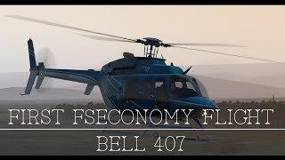 [X-Plane 11] First FSEconomy Flight    Bell 407